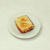 Grilled Cheese Sandwich on Ceramic Plate