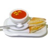 Handcrafted Grilled Cheese Sandwich And Tomato Soup Set