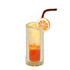 Handcrafted Tequila Sunrise Cocktail
