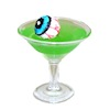 Handcrafted Halloween Eyeball Highball Cocktail