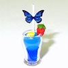 Handcrafted Blue Lagoon Tropical Drink Cocktail