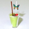 Handcrafted Grasshopper Frozen Tropical Drink Cocktail