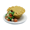 Chicken Pot Pie on Plate