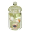 Handcrafted Haunted Halloween Eyeballs In Glass Jar
