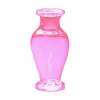Handcrafted Hot Pink Classic Pedestal Glass Vase
