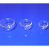 Three Glass Mixing Nesting Bowls Set