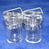 Pair of Glass Canning Jars