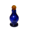 Cobalt Blue Glass Potion Perfume Bottle