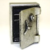 Dollhouse Opening Aged Metal Combination Safe