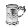 Halloween Skull and Crossbones Beer Stein Tankard