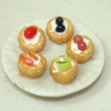 Handcrafted Plate of Fruit Tarts