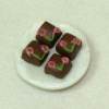 Handcrafted Cherry Chocolate Petit Fours