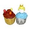 Handcrafted Springtime Easter Cupcakes with Chick