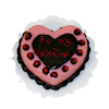 Handcrafted Pink Chocolate Valentine Heart Cake