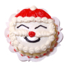 Handcrafted Santa Claus Christmas Cake