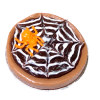 Handcrafted Halloween Spider Chocolate Pie