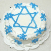Handcrafted Jewish Star of David Cake