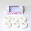 Handcrafted Powdered Donuts with Bakery Window Box