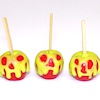Handcrafted Scary Halloween Candy Apples