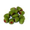 Handcrafted Bunch of Green Olives Stuffed with Pimento