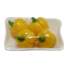 Package of Wrapped Vegetables - Yellow Peppers