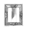 Don Henry Aged Sterling Silver Picture Frame with Roses