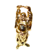 18K Gold Plated Brass Laughing Buddha