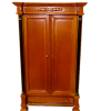 Bespaq Hand Crafted Walnut Empire Armoire