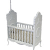 Bespaq Sweet Wreath Wood Baby Crib