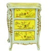 Bespaq Chateau Hand Carved and Painted Night Table