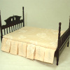 Bespaq Four Poster Colonial Mahogany Bed