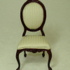Bespaq Petite Francoise Mahogany Side Chair