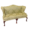 Bespaq Upholstered Traditional Wingback Sofa