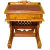 Bespaq Roosevelt Carved Walnut Davenport Desk