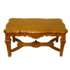 Bespaq Italia Handcarved Walnut Coffee Table