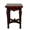 Bespaq Handcarved Italia Mahogany End Table