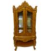 Bespaq Wesmorland Hand Carved Display Case China Cabinet