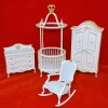 Dollhouse Bespaq Limited Edition Royal Nursery Set