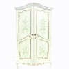 Bespaq Hand Painted Sewing Notions Armoire Cabinet