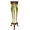 Bespaq Uptown Art Deco Carved and Gilded Wood Display Stand