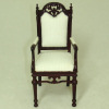 Bespaq Provincial Manor Mahogany Arm Chair