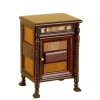 Bespaq Ruskin Walnut Bicolor Night Stand
