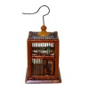 Bespaq Walnut Wood Ltd Square Bird Cage