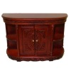 Bespaq Bar Counter Hennessey Carved Mahogany