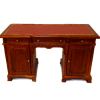 Bespaq Regal Double Sided Leather Top Partners Desk