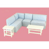 Bespaq Park Lane Lots of Fun Modern Living Room Sectional Set