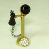 Brooke Tucker Antique Brass Stick Phone