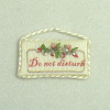 Brooke Tucker Do Not Disturb Door Sign