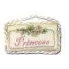 Brooke Tucker Handcrafted Princess Fabric Door Sign