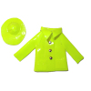 Handcrafted Rain Coat Slicker and Hat Set